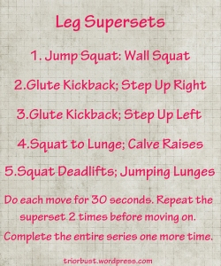 leg supersets